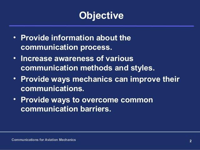 airworthiness  communications for mechanics