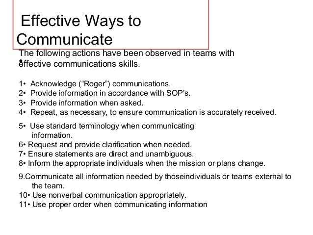 Communication skill drtk effective ways to communicate sciox Choice Image