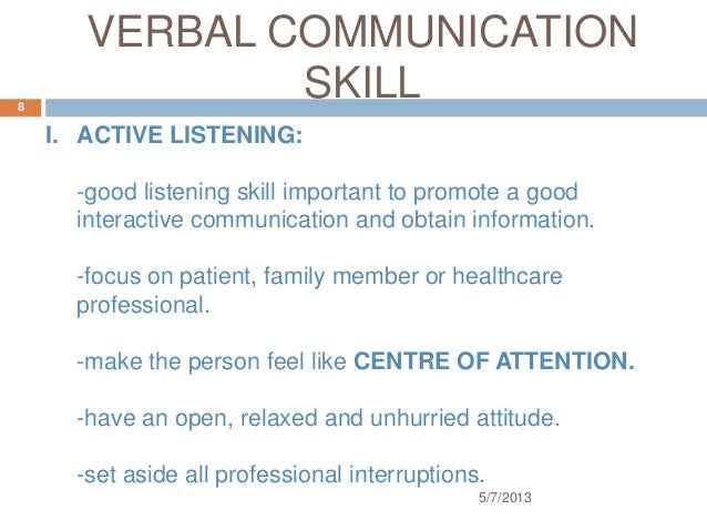 communication skills for health professionals essay Personal and professional healthcare communication essay, buy custom personal and professional healthcare communication essay paper cheap communication skills of the health provider are part of the work ethics which form the foundation of practice that is equally important for ensuring the.