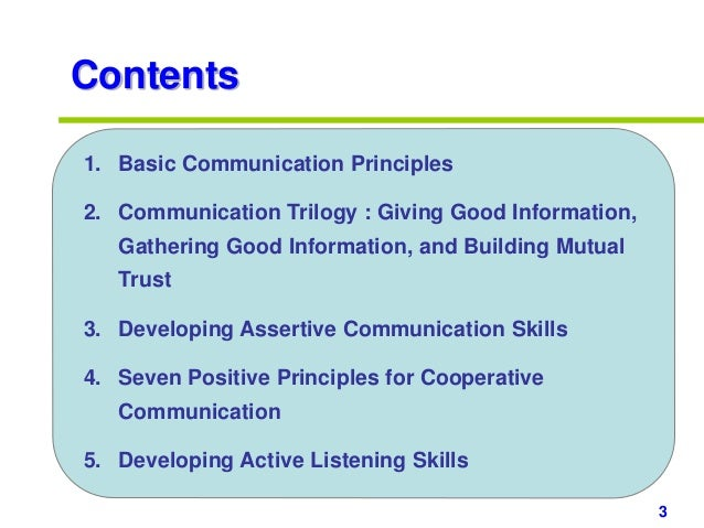 Communication Skills Ppt Slides