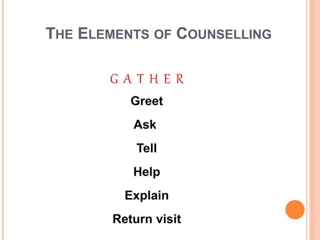 Communication skills.