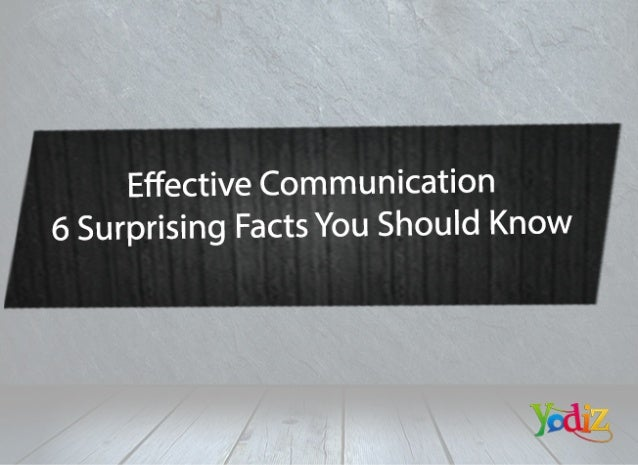 6 Surprising Facts of Communication skills