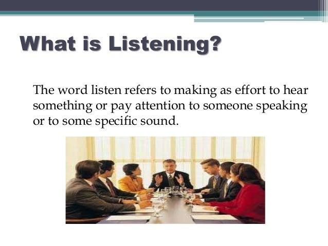 listening skills in communication Listening skills - listening skills we all need to practice listening more  communication and listening - communication and listening what is the key to.