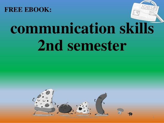 Communication skills 2nd semester pdf free download
