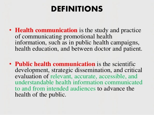 importance of communication in healthcare Effective communication is important to building strong relationships and succeeding in business it's a combination of good speaking and listening skills that leads to clear, concise communication.