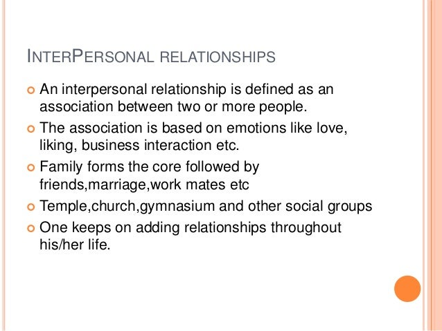 what are the interpersonal skills