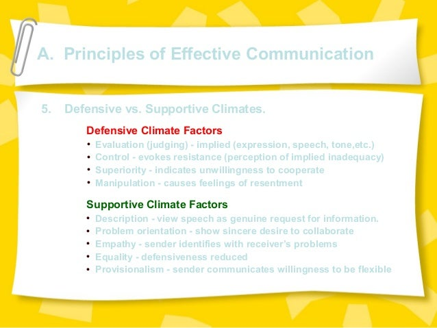 what principles of supportive communication and Transcript of chapter 4 - supportive communication chapter 4 - supportive communication  principles of supportive communication 1 based on congruence, not .