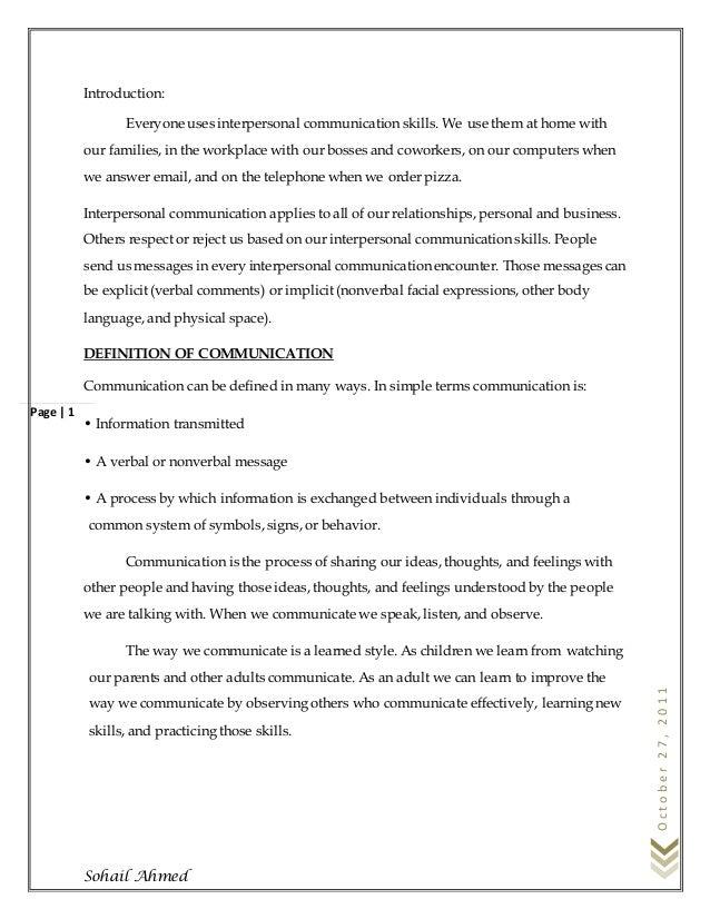 Communication skills by sohail ahmed Slide 2