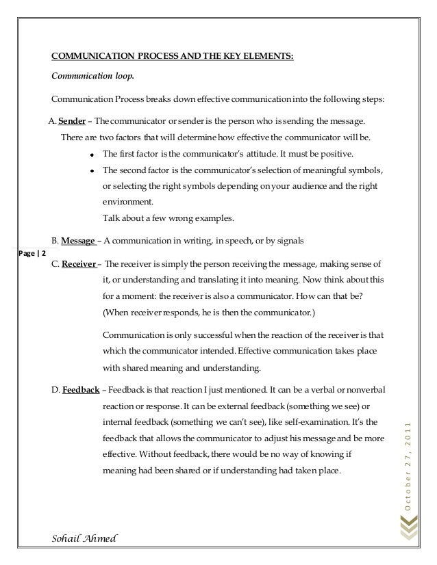 Communication skills by sohail ahmed Slide 3