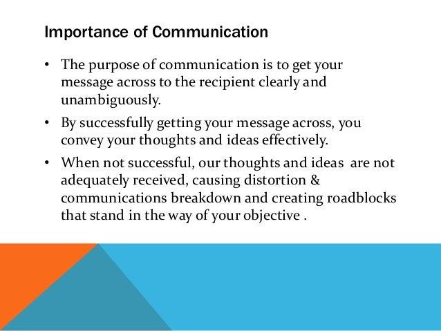 Delightful 6. Importance Of Communication ...
