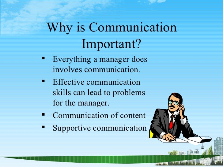 2; 3. Why Is Communication Important?