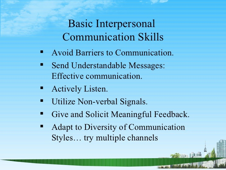 Communication Skills Ppt  Bec Doms