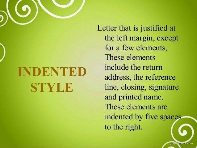BUSINESS LETTER AND DIFFERENT STYLES