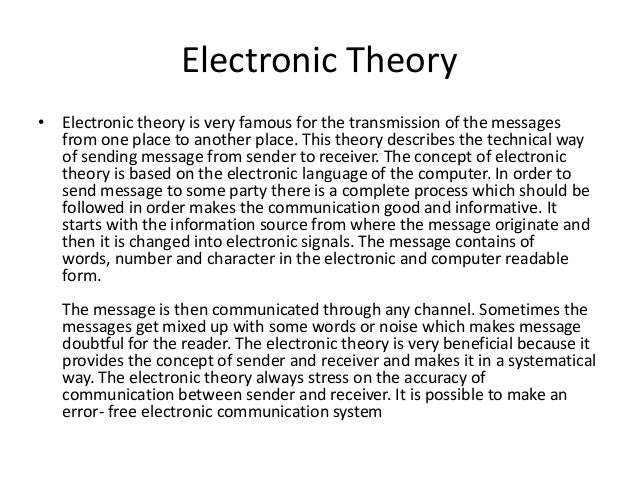 what is electronic communication In telecommunication, communications-electronics (c-e) is the specialized field concerned with the use of electronic devices and systems for the acquisition or acceptance, processing, storage, display, analysis, protection, disposition, and transfer of information c-e includes the wide range of responsibilities and actions.