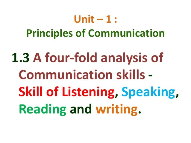 four skills language learning listening speaking reading The purpose of language learning is to improve the speakers' four skills of listening, speaking, reading and writing, with the base of large vocabulary and good grammar, but this is not the final purpose.