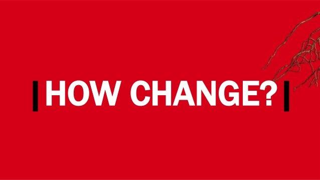 |HOW CHANGE?|