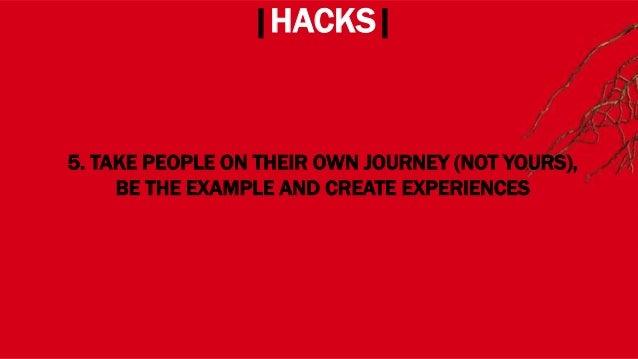 WHERE? |HACKS| 7. HACK YOURSELF!
