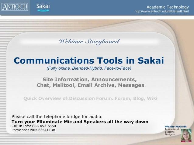 Academic Technology                                                                   http://www.antioch.edu/at/default.ht...