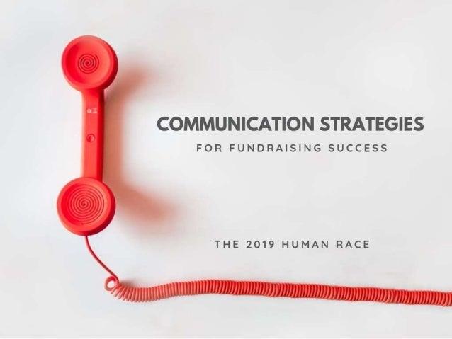 Human Race 2019- Communications Training