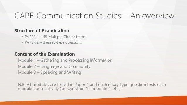 essay on communication degree