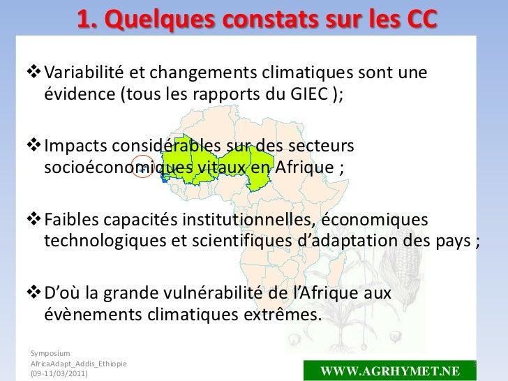Hubert N'Djafa Ouaga: La prevision saisonniere scientifique: quel apport des connaissances traditionnelles?  Slide 3