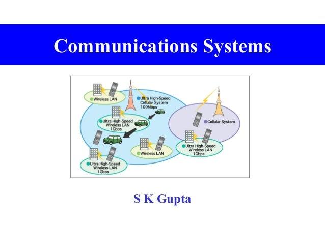 Communications Systems  S K Gupta