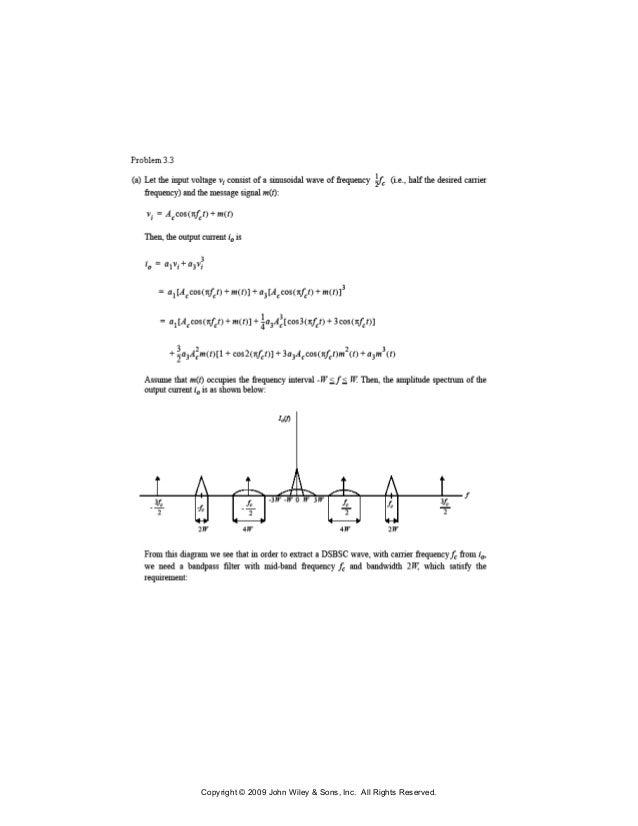 Communication systems 5th edition simon haykin