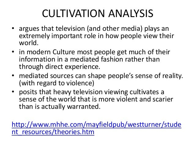 an analysis of the effects of the mass media in the world Ignore or minimize the effects of mass media imperialism cultivation effects analysis in developing countries might media research: the world.