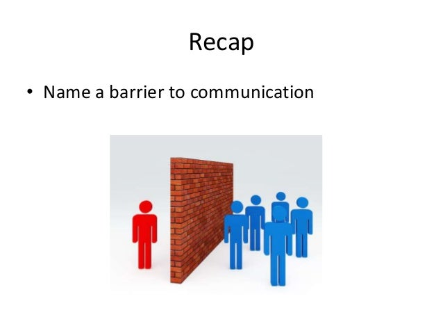 demonstrate ways so that you can triumph over barriers in order to communication