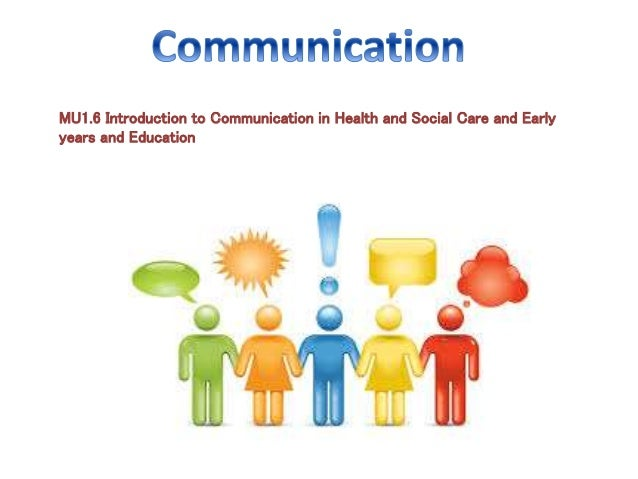 unit 1 introduction to communication in Unit 1: introduction to business communication communication is an important part of your self-concept this unit will help you solve problems by understanding yourself and others and recognizing the role you play as communicator.