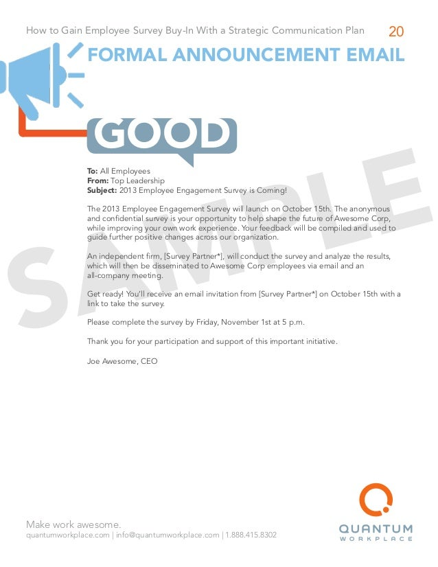 Doc7281030 Organizational Change Announcement Template Sample – New Employee Announcement Template