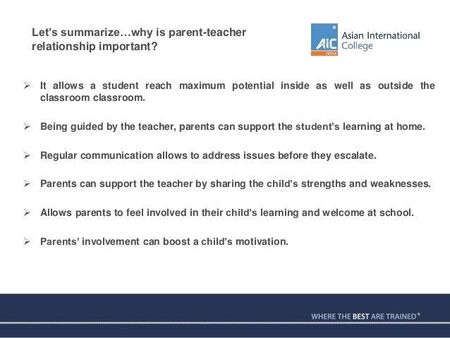 teacher student parent communication