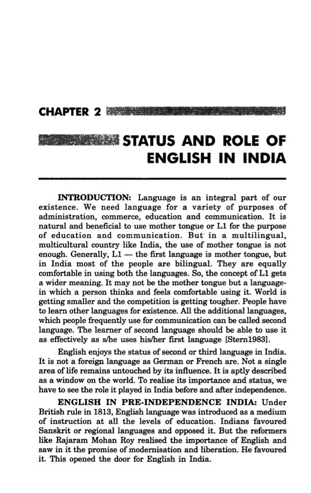 Essays On Importance Of English In India  Mistyhamel Essay On Importance Of English Language