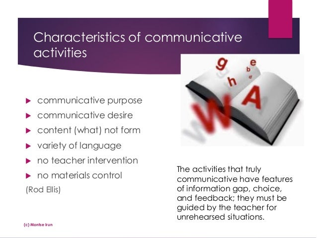 functions and characteristic of communication Communicative functions or purposes of communication  have noted the  characteristics of intentionality and means of communication before addressing  the.