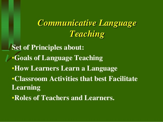 goal of language teaching is to I the goal of the arabic major is to achieve advanced language proficiency in the four areas of language performance: speaking, listening, reading and writing.