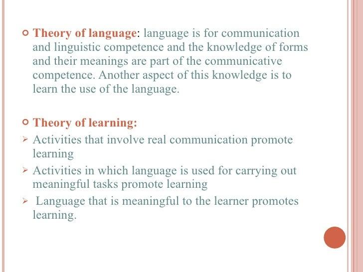example of communicative language teaching