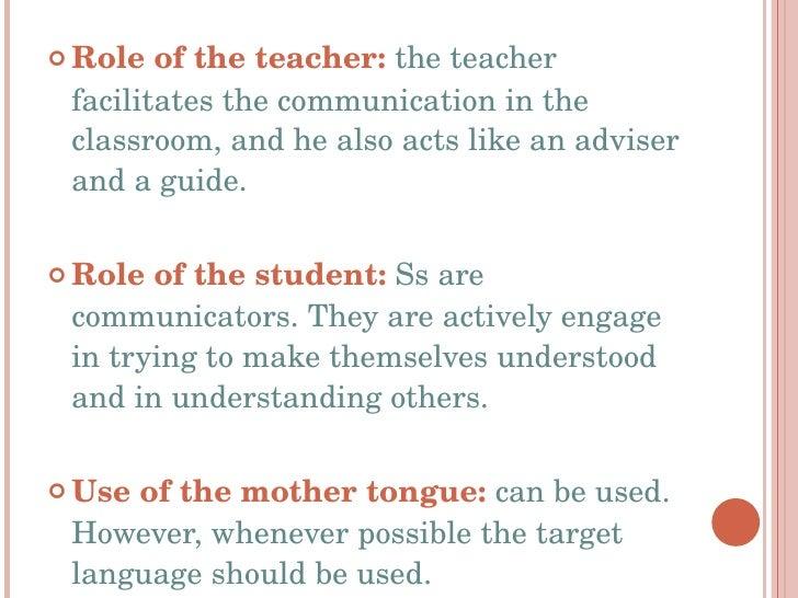 Communicative language teaching method(1)