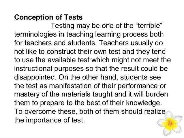 communicative language testing Communicative language tests are intended to be a measure of how the testees are able to use language in real life situations in testing productive skills, emphasis is placed on appropriateness rather than on ability to form grammatically correct sentences in testing receptive skills, emphasis is placed on understanding the.
