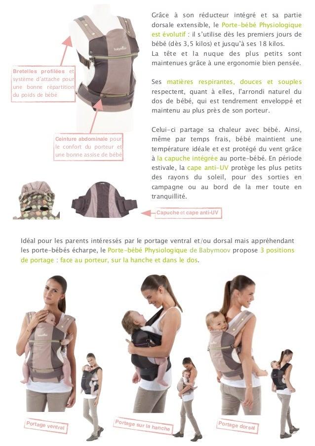Communique de  presse : porte-bebe-physiologique Slide 2