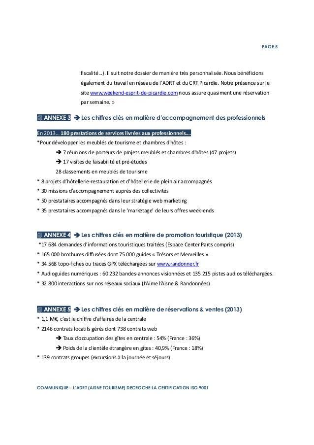 L 39 adrt aisne tourisme certifi e iso 9001 for Presse agrume professionnel maroc