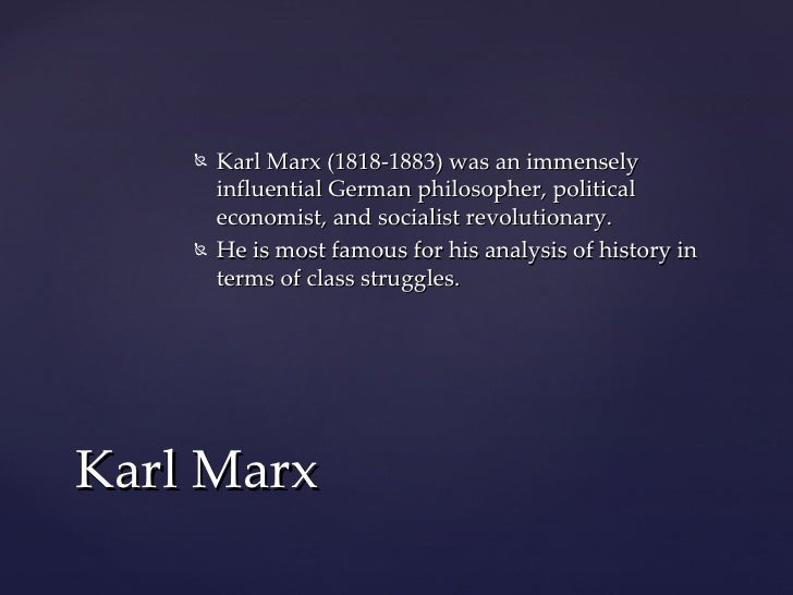 an analysis of social stratification in manifesto of the communist party by karl marx Bourgeoisie and proletariat from the communist manifesto by carl marx and  friedrich  karl marx (1818-1883) was a revolutionary german economist and   marx saw history as the story of class struggles, in which the oppressed fight.