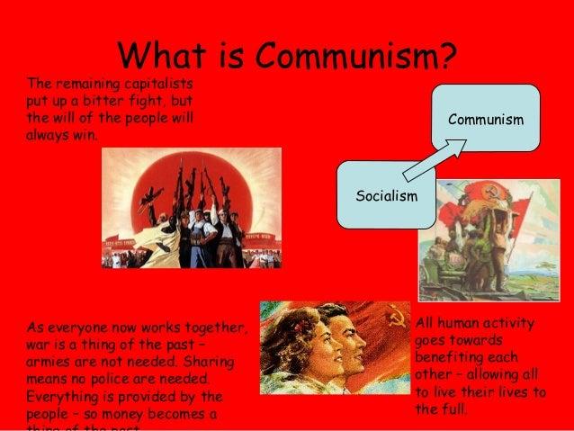The Basic Understanding of Communism