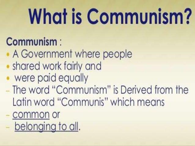 Image Result For Communism Definitiona