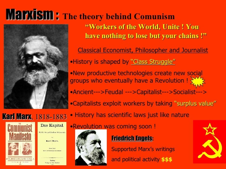marx s theory of class Class conflict, frequently referred to as class warfare or class struggle, is the tension or antagonism which exists in society due to competing socioeconomic interests and desires between people of different classes.