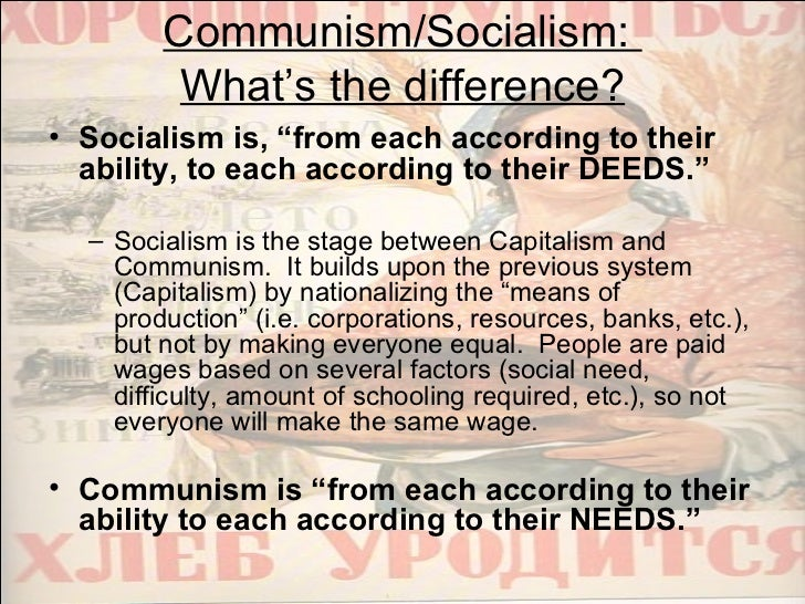"""communism capitalism and socialism The concept of a """"far left"""" that is opposed to a """"far right"""" is false the systems placed on the two ends of that spectrum, including socialism, fascism, and nazism, are all rooted in communism and all of them share beliefs in core communist concepts, including state collectivism, planned."""