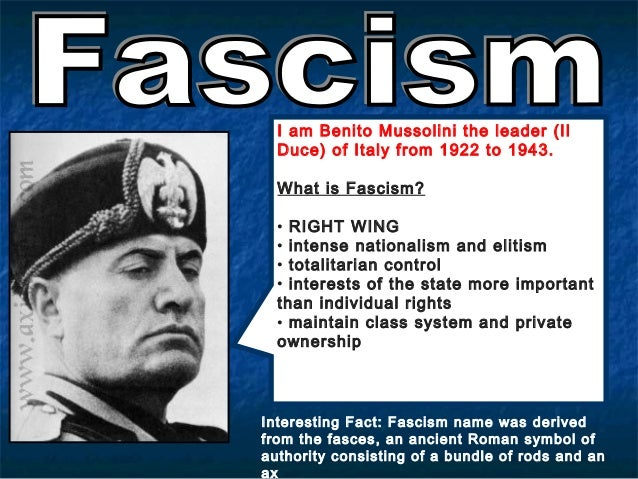 a overview of rule of benito mussolini and italy as totalitarian country