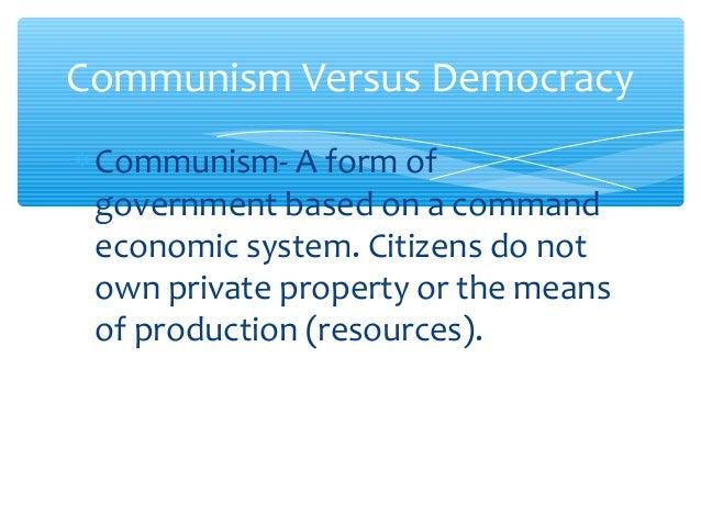 Communism Vs Democracy Venn Diagram Demirediffusion