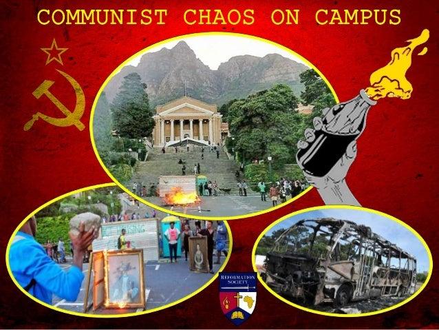 COMMUNIST CHAOS ON CAMPUS