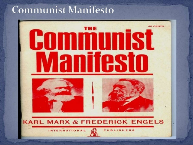 an analysis of the communist manifesto by karl marx and friedrich engels Free essay: communist manifesto by karl marx and friedrich engels explains  the good parts of the communist system and how it should still apply to the.