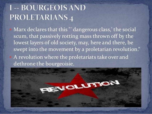 Summary communist manifesto